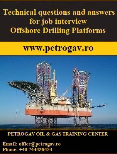 Technical questions and answers for job interview Offshore Drilling Platforms PDF