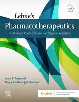 Lehne   s Pharmacotherapeutics for Advanced Practice Nurses and Physician Assistants   E Book PDF