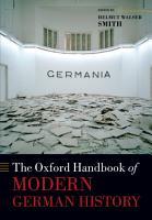 The Oxford Handbook of Modern German History PDF