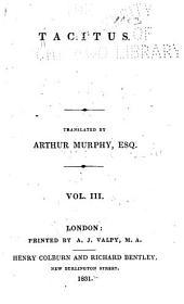Tacitus: Volume 3
