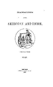 Transactions of the American Art Union PDF