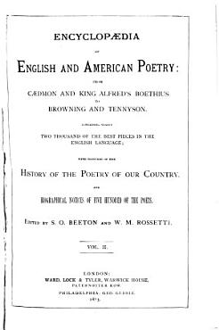 Encyclopaedia of English and American Poetry PDF