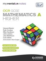 My Revision Notes  OCR GCSE Specification A Maths Higher ePub PDF