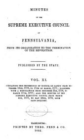 Colonial Records of Pennsylvania: Volume 11
