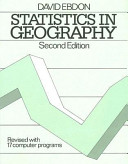 Statistics In Geography