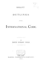 Outlines of an International Code