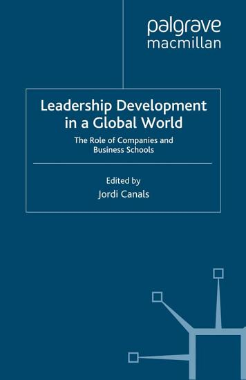 Leadership Development in a Global World PDF