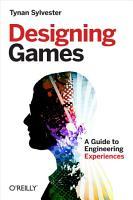 Designing Games PDF