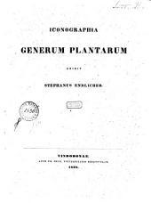 Iconographia generum plantarum