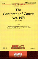 The Contempt of Courts Act  1971 PDF