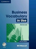 Business Vocabulary in Use Advanced with Answers and CD-ROM