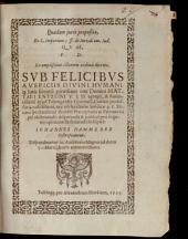 Quaedam iuris proposita, ex L. imperium 3. ff. de iurisdictione om. iud