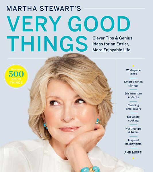 Download Martha Stewart s Very Good Things Book