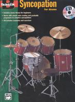 Basix Syncopation for Drums PDF