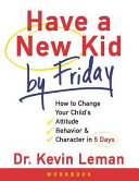 Have a New Kid by Friday Workbook Book