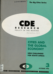 Cities and the Global Economy PDF
