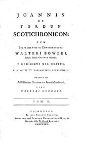 Scotichronicon: Volume 2