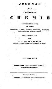 Journal für praktische Chemie: Band 11