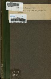 Neue und alte Fragmente des Livius
