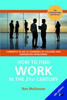 How to Find Work in the 21st Century PDF