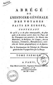 Abrege de l'Histoire Generale des Voyages Faits en Europe