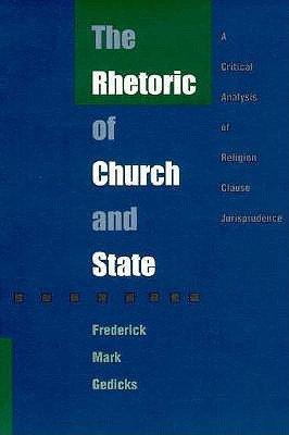 The Rhetoric of Church and State PDF