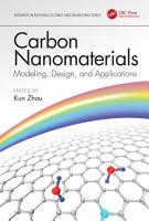 Carbon Nanomaterials  Modeling  Design  and Applications PDF