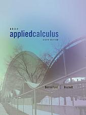 Applied Calculus, Brief: Edition 6