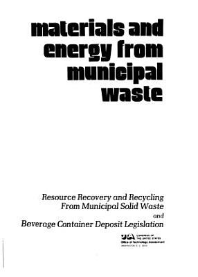 Materials and Energy from Municipal Waste