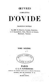 Œuvres complètes d'Ovide: Volume10