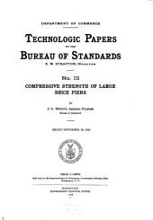 Technologic Papers of the Bureau of Standards: Issues 111-125