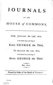 Journals of the House of Commons: Volume 65