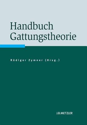 Handbuch Gattungstheorie PDF