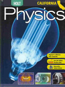 Holt Physics   California Edition Book