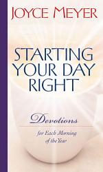 Starting Your Day Right Book PDF