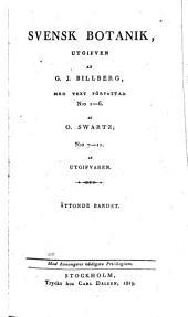 Svensk botanik: Volym 8