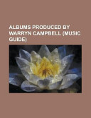 Albums Produced by Warryn Campbell PDF