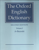 Oxford English Dictionary Book PDF