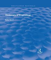 Dictionary of Enamelling PDF