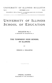 The Township High School in Illinois: Issue 8