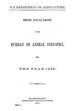 Report of the Chief of the Bureau of Animal Industry, United States Department of Agriculture