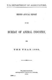 Report of the Chief of the Bureau of Animal Industry, United States Department of Agriculture: Volume 2
