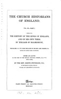 The history of the kings of England and the Modern history  tr  by J  Sharpe  Revised with notes by J  Stevenson PDF