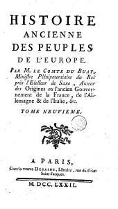 Histoire ancienne des peuples de l'Europe: Volume9