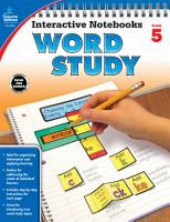 Interactive Notebooks Word Study Grade 5