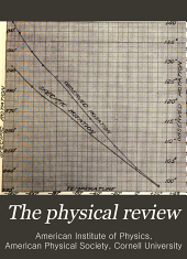 Physical Review: Volume 30; Volume 1910