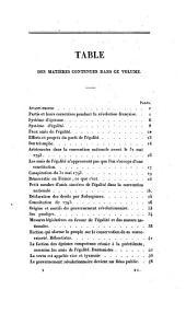 Conspiration pour l'égalité dite de Babeuf: suivie du procès auquel elle donna lieu, et des pièces justificatives, etc., etc