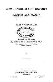 Compendium of History, Ancient and Modern