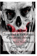 Zombies and Vampires Coloring Book PDF