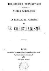 La famille, la propriété et le Christianisme